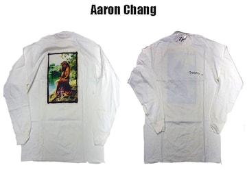 90s80sデッドストヴィンテーAARON CHANG ロンT アロンチャング ファクトパウエル