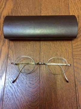 金子眼鏡 kv-49 一山 チタン 日本製 度なし ラウンド メガネ