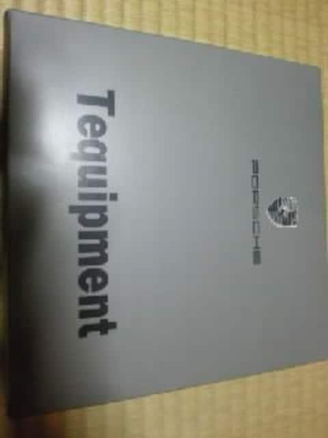 ポルシェ Tequipment ホイール用 センターキャップ 未使用 4個セット イタリ− < 自動車/バイク