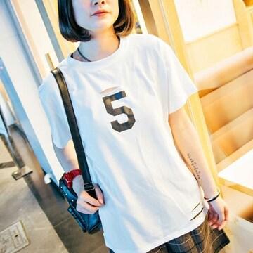 0914-606029大きいサイズ☆NO.5ダメージTシャツ☆ホワイト