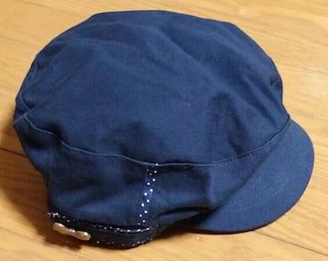 ☆新品未使用☆紺色帽子