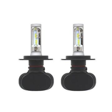 LED ヘッドライト H4 HI-LO 12v 25w 6500k ファンレス