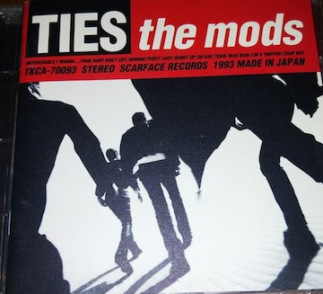 CD THE MODS TIES 帯なし モッズ