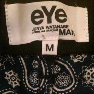 eYe JUNYA WATANABE MAN ハーフパンツ 紺 黒 M 16ss