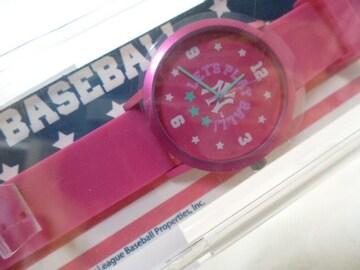 インプライベート腕時計ピンクMLBシリアルナンバー限定プラザ