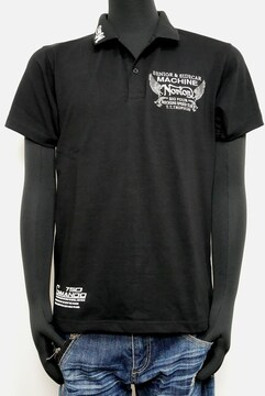 新品Norton202N1200MAXポロシャツ黒 L 吸水速乾素材
