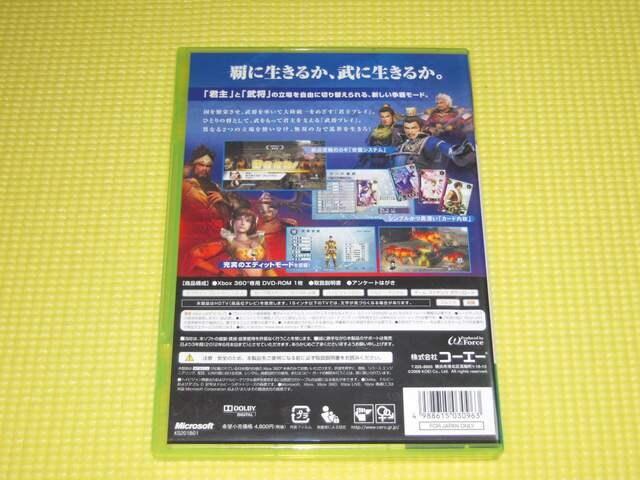 xbox360★即決★真 三國無双 5 Empires★箱説付★アクション < ゲーム本体/ソフトの