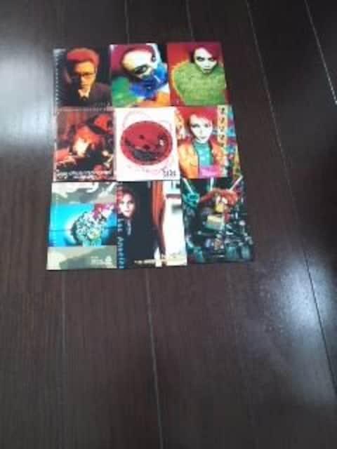 hide(X JAPAN)[トレカ9枚SET]  < タレントグッズの