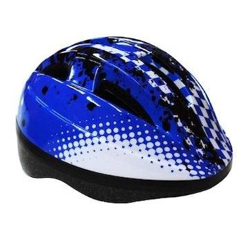 ★即日発送★ 子ども用 ヘルメット 通気性◎ 青 他色有