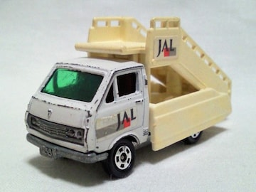 絶版トミカ��98 ハイエース タラップカー JAL 日本製