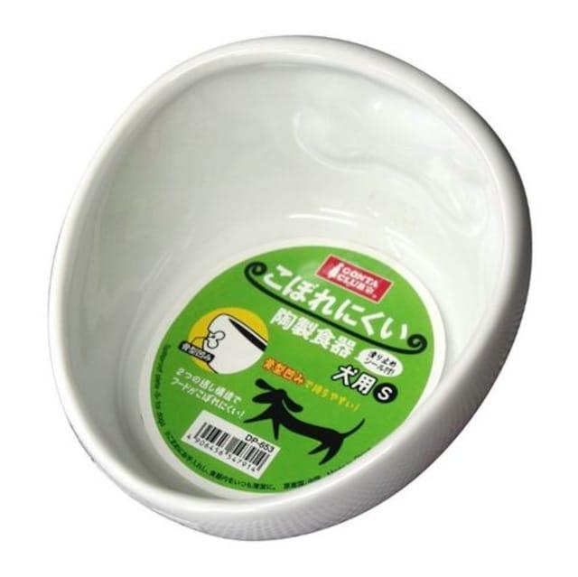 マルカン こぼれにくい陶製食器 犬用 S  < ペット/手芸/園芸の