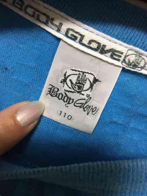 子供服/BODY GLOVE/半袖/Tシャツ/110cm/ブルー < キッズ/ベビーの
