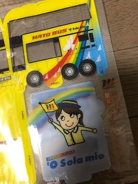未使用非売品/はとバス★HB★スマホ/ペンスタンド/組立!