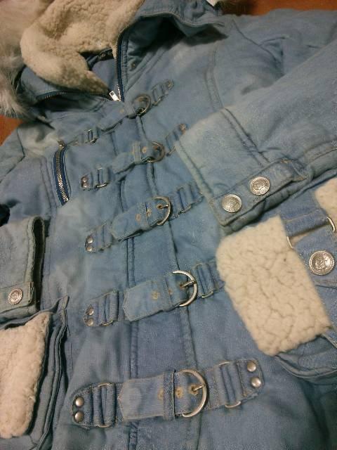 ◆BACKS ◆モコモコデニムジャケットコート◆ < ブランドの