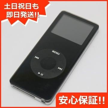 ●安心保証●美品●iPOD nano 第1世代 1GB ブラック●