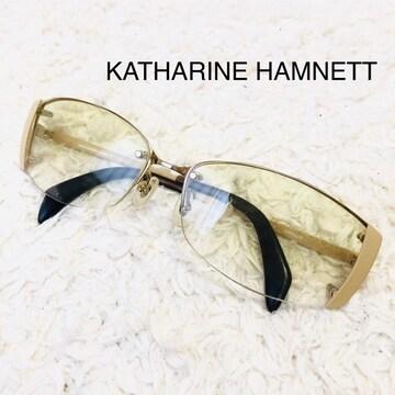 KATHARINE HAMNETT キャサリンハムネット サングラス ブラウン