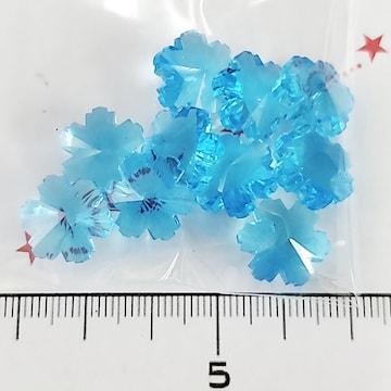 12*ガラスカボション 雪の結晶 23