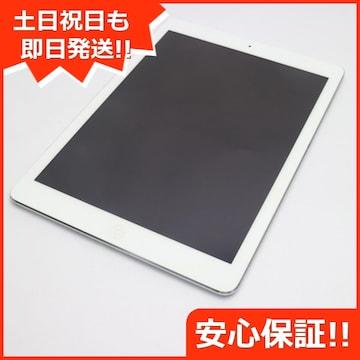●美品●SOFTBANK iPad Air Cellular 64GB シルバー●