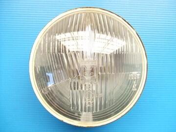 当時物 マーシャル 凸レンズ 180パイ ヘッドライト 旧車 丸目2灯