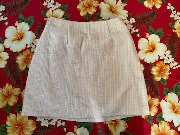 dazzlin☆上品綺麗なピンク光沢スカート☆