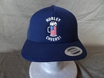 Hurley USA国旗ビアジョッキ CHEERS!ロゴ刺繍入りCAP