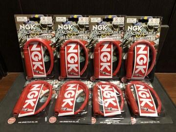 ゼファー1100RS ('96.2〜'07) NGK製プラグコード 赤 新品