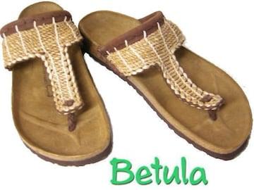 ビルケンシュトック新品ベチュラBetula 天然 麻768053ガーナ40