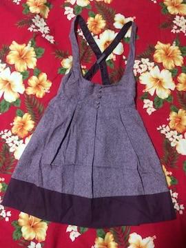 レストローズ☆可愛いピンク系ジャンパースカート☆
