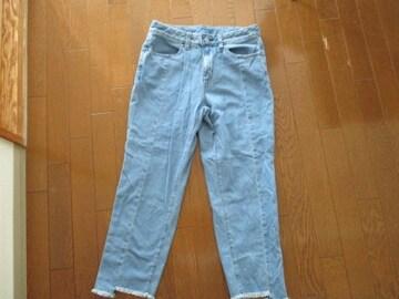 GU/クロップドカットオフジーンズ 定価2689円