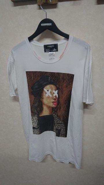 DOMREBEL RAPHAEL Tシャツ ドムレベル オニキス XL ホワイト < 男性ファッションの