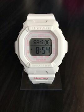 美品 CASIO Baby-G X Heather 別注 コラボ ホワイト/ピンク