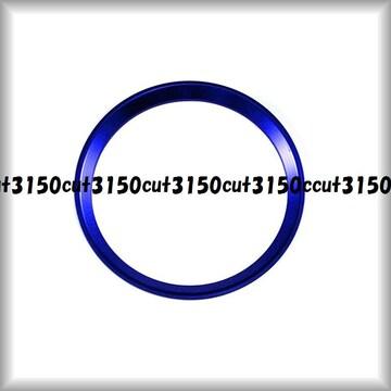 ベンツハンドルセンターリング★A B C E GLA GLC GLE等★ブルー