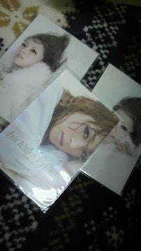 浜崎あゆみ ステッカー1枚とクリスマスカード2枚 新品