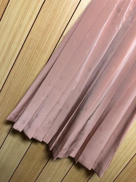 新品ROPE★ロゴプリントプリーツスカート