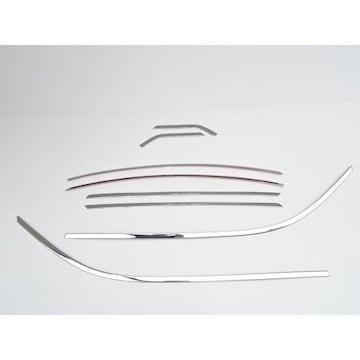 トヨタ アルファード ヴェルファイア 30系 35系  鏡面クロームメッキ ウェザーストリップ 8P