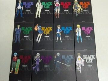 本[漫画文庫/完結] 矢吹健太郎 BLACK CAT/ブラックキャット 全12巻